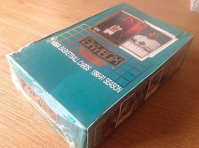 UNOPENED BOX NBA SKYBOX 1990 BASKETBALL TRADING CARDS Michael Jordan Sealed!