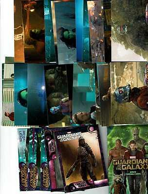 HUGE LOT 2014 Guardians of the Galaxy Trading Cards 30 Wrapper/Inserts No Dupes