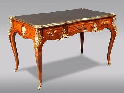 BEAUTIFUL DESK bureau plat in the Louis XV Style
