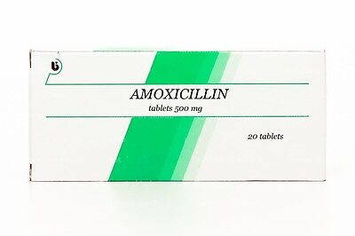 Pharmrus_Amoxicillin 500mg 60 Tablets(3 boxes x 20 Tablets) Free shipping
