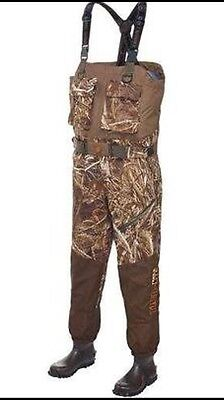 New Men's Game Winner Tred-Lite Breathable Wader REALTREE Max-5 Size 8
