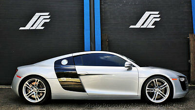 2009 Audi R8 Base Coupe 2-Door 2009 Audi R8 6 Speed Manual 37K Miles 96 Month Financing Available Accept Trades