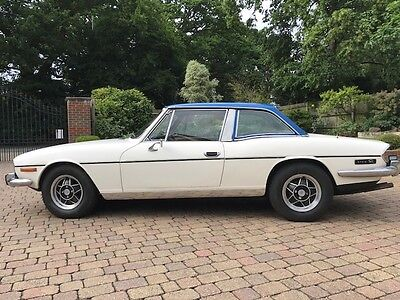 Triumph Stag 1972 Manual with Overdrive