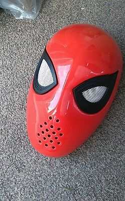 Spiderman/Spider-man Homecoming Faceshell and lenses