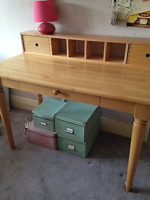 Children's desk/writing table and chair