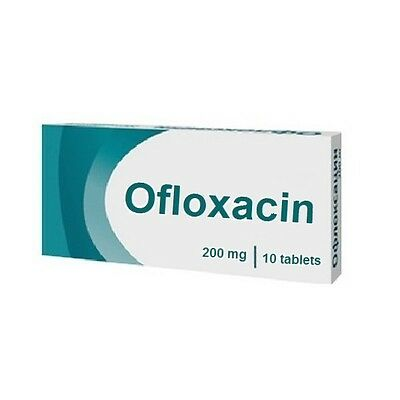 Pharmrus_Ofloxacin 200 mg  60 tablets(6 boxes x 10 tablets) Free shipping