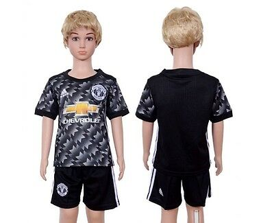 Manchester United Shirt BNWT Kids With Shorts Children's Man Utd NEW 17/18 Away