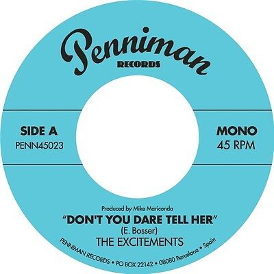 The Excitements - Dont You Dare Tell Her Vinyl 7Inch Penniman NEW