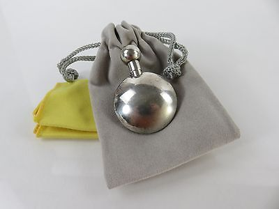Vintage Leonor Doskow Sterling Silver Perfume Flask, c1972