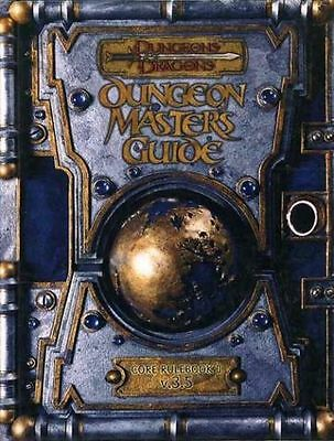 Dungeons And Dragons Dungeon Masters Guide Core Rulebook 2, V.3.5 Hard Back