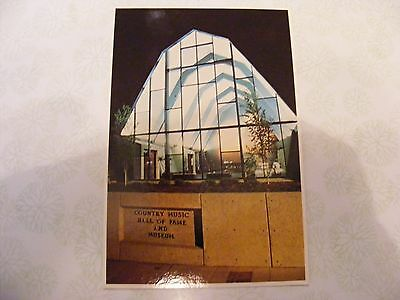 Vintage Postcard Of The Country Music Hall Of Fame Nashville, Tenn.
