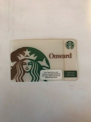 STARBUCKS 2010 ONWARD Gift Card Limited and RARE New Series 6066