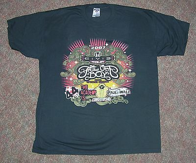 Fall Out Boy - T-Shirt - 2007 Tour - Size L -Never Worn - Double-Sided