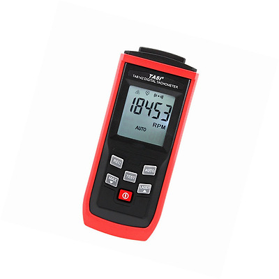 TASI Digital Non-contact RPM Tach Photo Laser Tachometer Professional Automatica