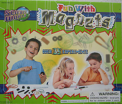 Fun With Magnets - Science World- Game -Only $5 -Perfect Birthday Present -New