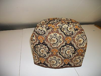 Glitter Brown Paisley 2 Slice Toaster Cover