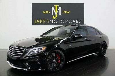 2014 Mercedes-Benz S-Class S63 AMG ($168K MSRP) 2014 S63 AMG~$168K MSRP~$30K IN OPTION~REAR DVD~EXECUTIVE REAR SEATING~18K MILES