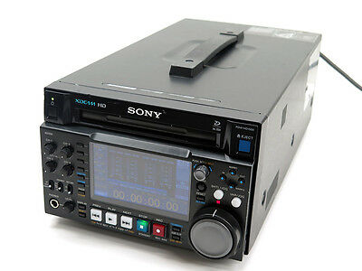 Sony PDW-HD1500 HD422 & XDCAM HD recorder w/ 24P & SD options PDBK-F1500