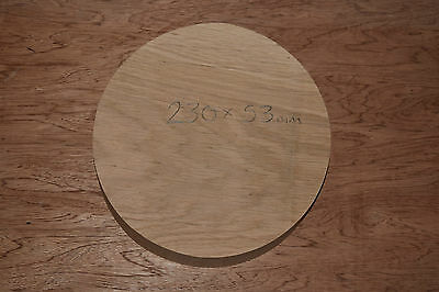 Oak Bowl Turning Blank 230mm