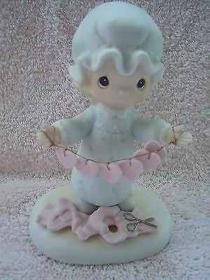Precious You Have Touched So Many Hearts Figurine 1983 Cross Mark