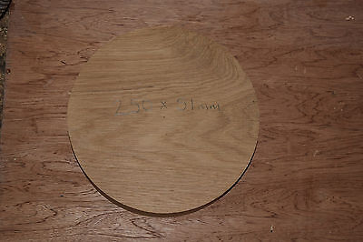 Oak Bowl Turning Blank 250mm