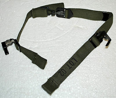 Paratrooper Chinstrap Chin Strap Us Army Usmc For M1 Wwii & Vietnam Helmet
