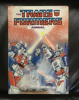 The Transformers Annual - Vintage 1987 - Marvel Hardcover - Autobots Decepticons