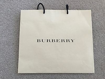 Brand New Authentic Burberry paper shopping bag 36.5X31.5X10.5cm