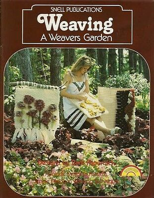 Weaving A Weavers Garden Barbara Papernick Vintage Flatloom Pattern Book NEW