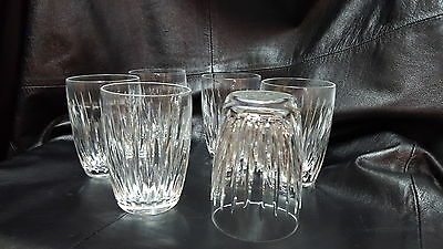 Waterford Crystal Water Glasses