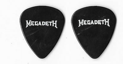 Megadeth version 3 tour guitar pick