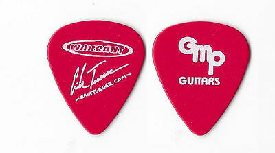 Warrant version 2 tour guitar pick