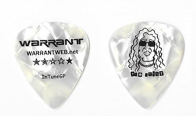 Warrant version 8 tour guitar pick
