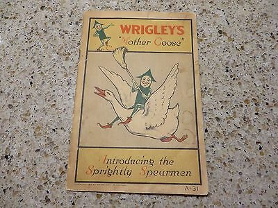 Wrigley's Gum Mother Goose booklet