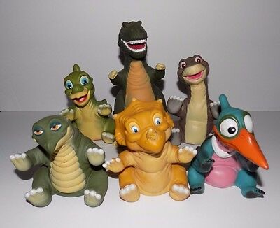 1988 Pizza Hut Land Before Time Puppets