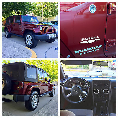 2010 Jeep Wrangler Unlimited Sahara 4WD 2010 Jeep Wrangler Unlimited Sahara 4WD (4-Door)