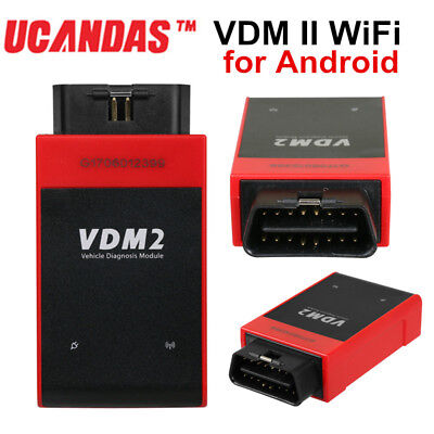 UCANDAS VDM2 All System Key Coding Diagnostic Tool WiFi for Android Free Update