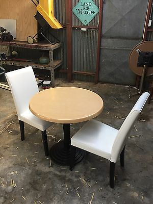 Cafe Restaurant Commercial Grade Table And Chairs