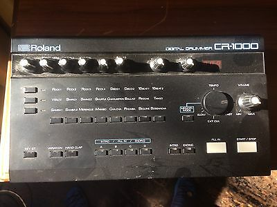 Roland Drum Machine CR-1000 Digital Drummer RARE!