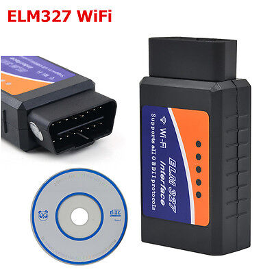 ELM327 V1.5 WiFi Scanner Auto OBD2 Wireless Car Diagnostic Tool for IOS Android