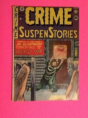 Crime Suspenstories #8 Fine Conditon Ec Crime Horror-January 1952 Johnny Craig
