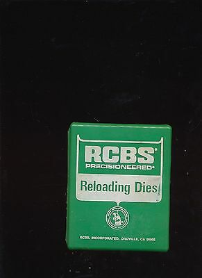 Rcbs 2-Piece Reloading Die Set .270 Win With Instructions In Box #13501 As Shown