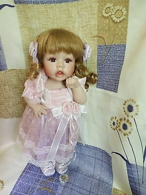15 in-30cm-porcelain doll- holiday-girl-toy-home collection-children gift