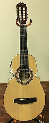 Cuatro De Puerto Rico Don Pablo, Acoustic-10 String Guitar., With Bag