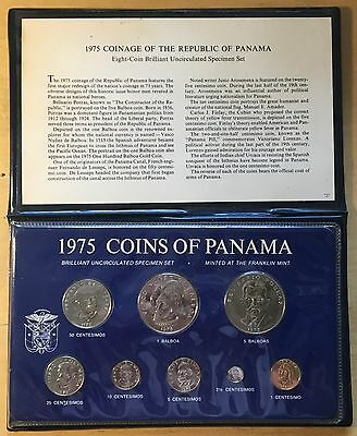 Panama 1975 Mint Set (box1)