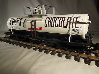ART 41323 Aristocraft Baker's Chocolate Tank Car