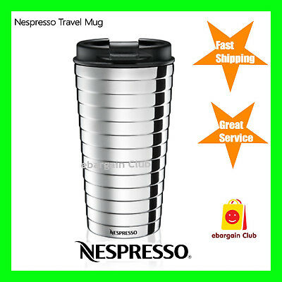 Nespresso Touch Travel Mug 345ml Keep warm or cold eBargainClub