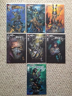 Top Cow Comics The Darkness comic book #1 2 3 4 5 6 7, lot of 7 books