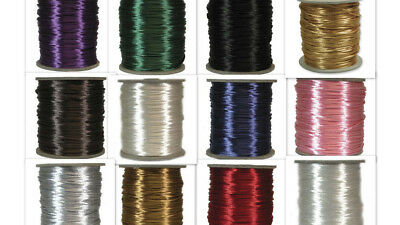Rattail satin cord - 2mm - various colours & pack sizes.