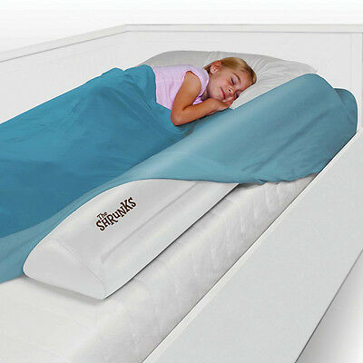 Bed Guard Tube with Foot Pump & Carry Bag for Children +2yrs Blow Up Bed Rail
